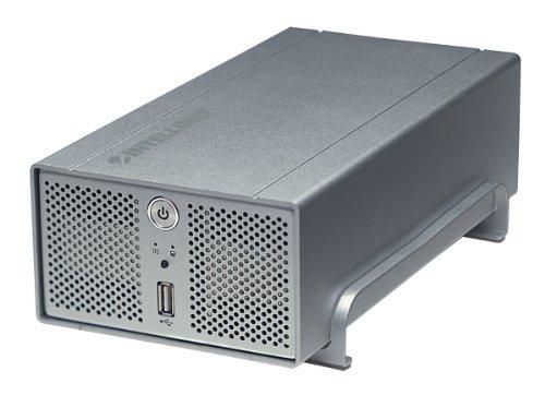 INTELLINET Gigabit SATA NAS 3 TB 2-Einschuebe 3-Terabyte mit RAID ein externer Hi-Speed USB Port | 7666235058952