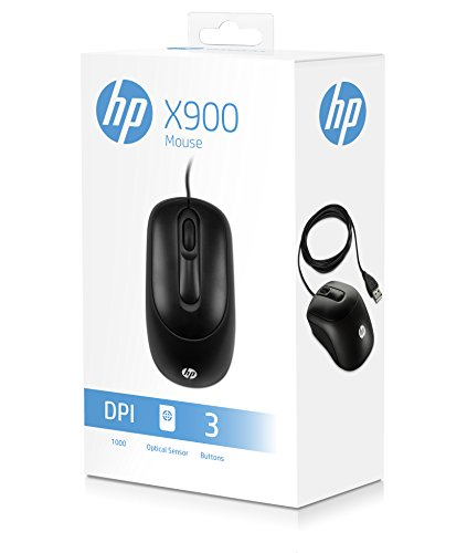 HP X900 USB Mouse (Black)