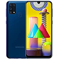 Samsung Galaxy M31 Mobile Phone; Sim Free Smartphone - Blue [Amazon Exclusive] (UK Version)