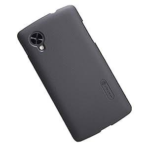 sale retailer fddc7 6b229 Nillkin Super Frosted Hard Back Cover Case For Google LG Nexus 5 D821 -  Black
