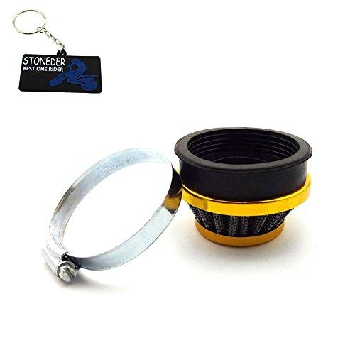 STONEDER Gold-Luftfilter, 60 mm, von Stoneder für 47 ccm, 49 ccm Minimoto Pocket Bike, Mini Moto, Quad