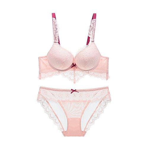 Sexy Women Hot Seamless Bra Set 3/4 Cup Adjustable Push Up Bra Lingerie Underwear Sets For Women