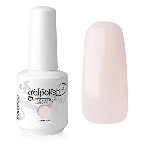 Elite99 Vernis A Ongles Gel UV Soak Off Base Top Nail Art Semi-Permanent Manucure 15ml 1345