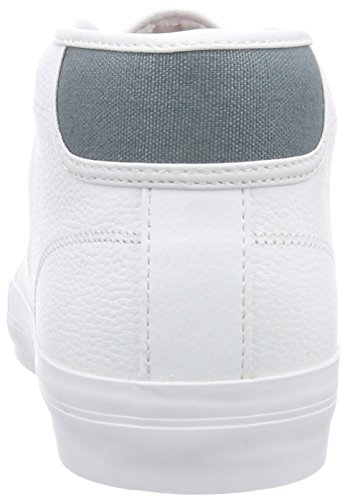 Lacoste AMPTHILL CHUNKY SEP Herren Hohe Sneakers Weiß (WHT/WHT 21G)