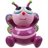 Preisvergleich für Cute Purple Big-Eyed Butterfly Piggy Bank Money by Private Label