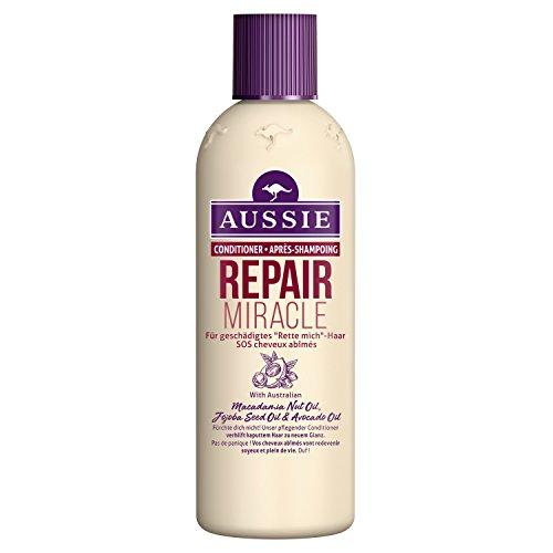 Aussie Repair Miracle Après-Shampoing pour Tous Types de Cheveux Malicieux 250ml