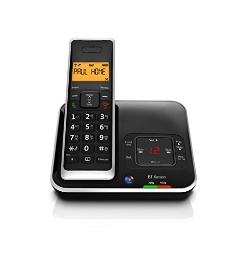 BT Xenon 1500 Cordless Telephone with Answer Machine