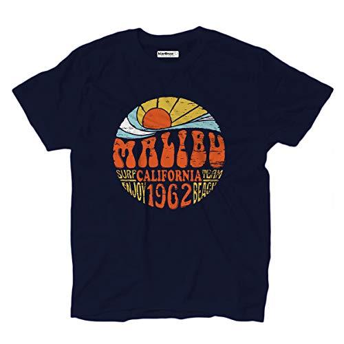 KiarenzaFD T-Shirt Team-Wellen-Strand-Jungen-Meer Brandungs-Malibu Kalifornien -