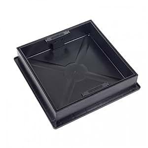 clark drain quadratisch zu runde einbauleuchte abdeckung und rahmen cd300sr baumarkt. Black Bedroom Furniture Sets. Home Design Ideas