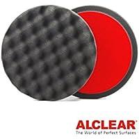 ALCLEAR Set di 2 dischetti per lucidatura a cialda anti ologrammi per un sistema disco Ø 135x25 mm, antracite preiswert