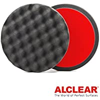 ALCLEAR Set di 2 dischetti per lucidatura a cialda anti ologrammi per un sistema disco Ø 135x25 mm, antracite - ukpricecomparsion.eu