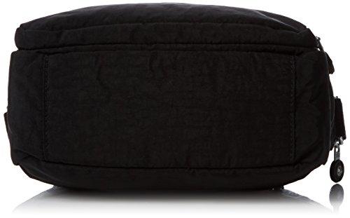 Kipling Damen Silen Umhängetasche, 24x18x11 cm Schwarz (True Black)
