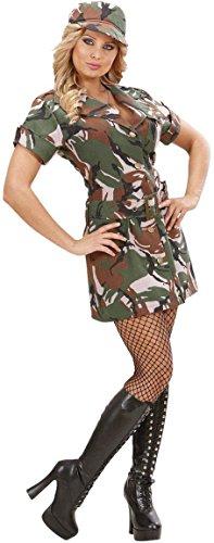 Heißes Militär-Kostüm für Damen - ()