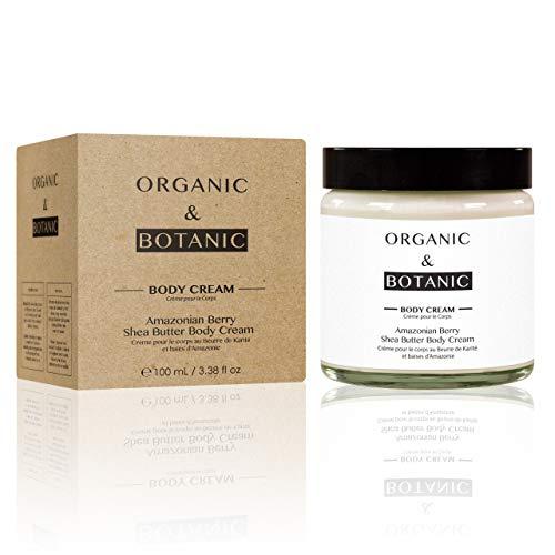 Organic & Botanic Crème pour Corps Beurre de Karité/Baie d'Amazonie 100 ml