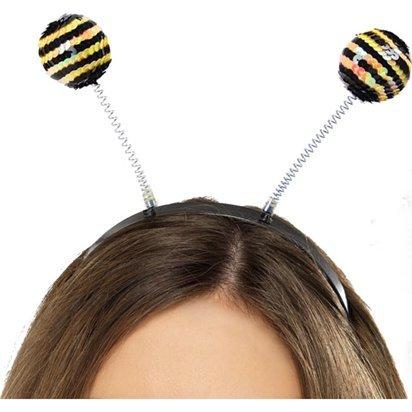 Bee Pailletten Haarreif (Art Superhelden Pop Kostüme)