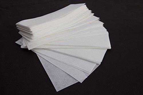 100 Vliesstreifen Wachsstreifen,20 x 7 cm,Enthaarung,Haarentfernung,Wachspatronen,Wachs,Sugaring,Zuckerpaste -