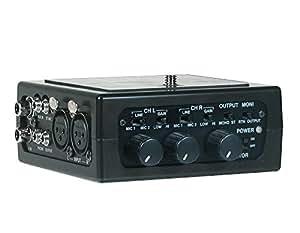 Azden FMX-DSLR Adaptateur Mixer/Audiopour Appareil photo reflex numérique