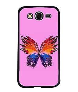 PrintVisa Designer Back Case Cover for Samsung Galaxy Grand Neo I9060 :: Samsung Galaxy Grand Lite (Agriculture Animal Back Couple Biology Blue Beautiful Butterfly)