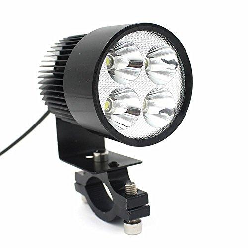 Preisvergleich Produktbild Zolimx 12V-80V Universal Motorrad E-Bike 20W LED Modified Scheinwerfer Lampe