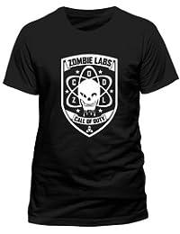 Call Of Duty Black Ops III - Zombie Labs T-Shirt schwarz M