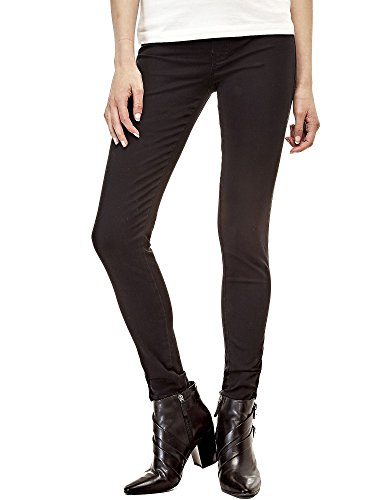 GUESS - Jeans donna vita alta slim fit curve high w73a49d2n30 Nero