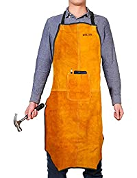 SNOWINSPRING Work Apron tool 16 Tool Pockets tool belt Adjustable vest Tool Apron for mans work apron and women work apron with waterproof apron and Canvas apron