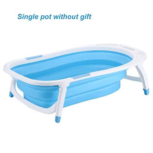 Y-M-H Bebé Bañera de baño Plegable Niño Infantil Lavado Infantil Juego Plástico...