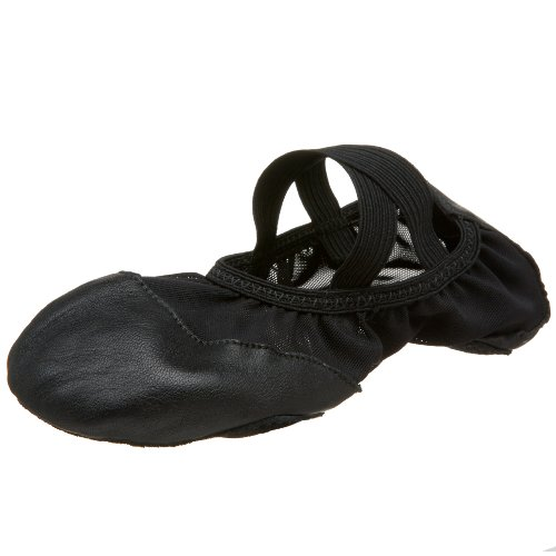 capezio-breeze-ff02-negro-zapatillas-de-ballet-color-negro-talla-eu-38-uk-ad-5-us-7