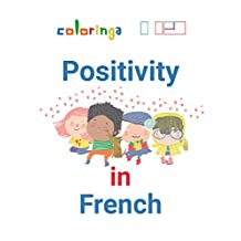 Learn Positive Words in French: Coloringa (1) (English Edition)