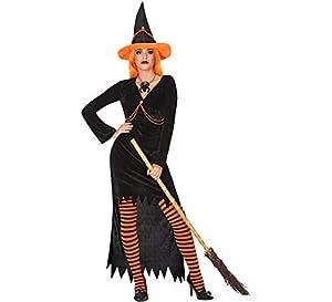 Atosa-54258 Atosa-54258-Disfraz Bruja para mujer adulto-talla XL naranja, color (54258)
