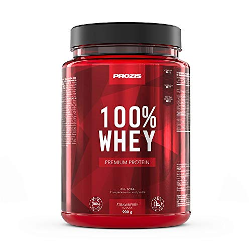 100% Whey Premium Protein 900 g - Strawberry