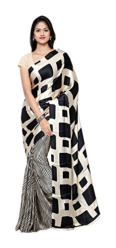 applecreation crepe saree (sarees jpq5664_black) Applecreation Crepe Saree (Sarees Jpq5664_Black) 41PrO37rUiL