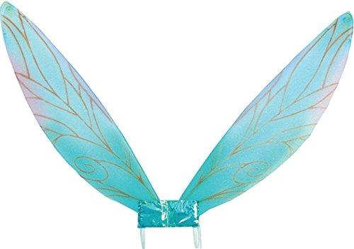 Bristol Novelties Erwachsenen-Kostüm Libelle hässliche Käfer Engel Fee Pixie Flügel - Blau - Einheitsgröße (Käfer Flügel Kostüm)