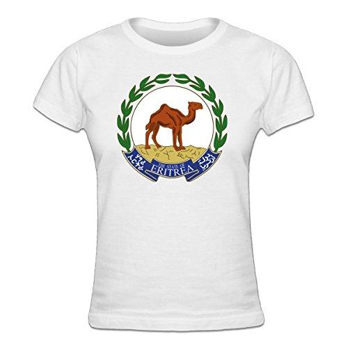 Eritrea Coat of Arms Frauen T-Shirt by Shirtcity (Eritrea Coat)
