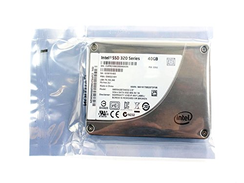 Dell Intel 320Series 40GB 6,3cm ssdsa2ct040g3Solid State Drive SSD 6j0C7 (Dell Laptop Solid State Drive)
