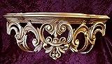 Barock, Konsole, Wandkonsole, Spiegelkonsole, Ablage, Antik Ornamente Cp72 50x20x24 Gold