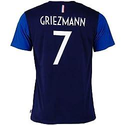 T-shirt FFF - Antoine Griezmann - Collection officielle Equipe de France de Football - Taille enfant garçon 10 ans