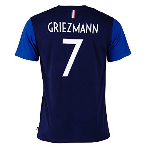 T-shirt FFF - Antoine Griezmann - Collection officielle Equipe de France de Football - Taille enfant garçon 14 ans