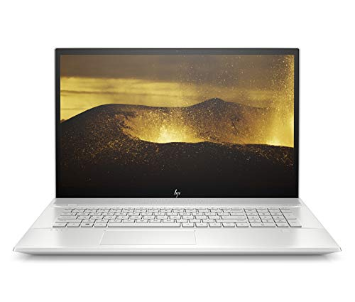 HP ENVY 17-ce0003ng (17,3 Zoll / FHD IPS) Laptop (Intel Core i7-8565U, 16 GB DDR4 RAM, 512 GB SSD, NVIDIA GeForce MX250 4 GB DDR5, Windows 10 Home) silber
