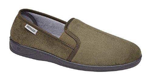 Dunlop, Pantofole donna Olive