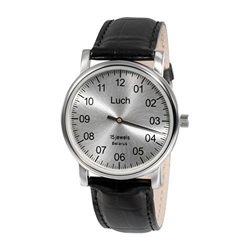 Luch Single Hand Mechanische Armbanduhr 37471762 - 2