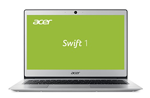 Acer Swift 1 SF113-31-P72F 33,8 cm (13,3 Zoll Full-HD IPS matt) Ultrabook (Intel Pentium N4200, 4GB RAM, 64GB eMMC, Intel HD, Win 10 S) silber