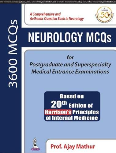 Neurology Mcqs For Postgraduate And Superspecialty Medical Entrance Examinations (Based On 20th Edit