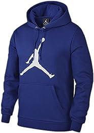 Sudadera capucha Jordan – Flight Fleece Jumpman Air azul/blanco