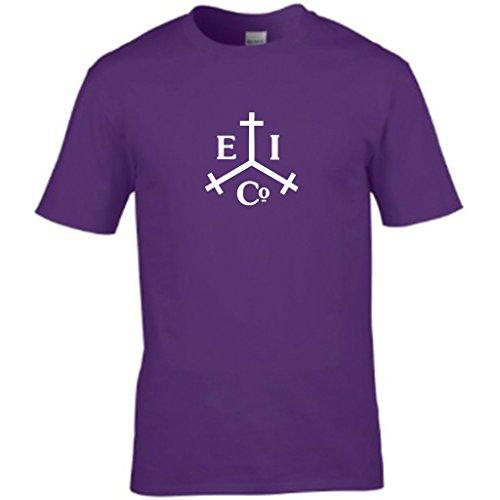S Tees Herren T-Shirt Violett - Violett