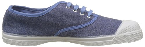 Bensimon Damen Tennis Deperlante Sneakers Blau (Denim)