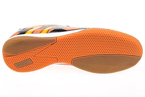 Gibra ® le gymnase pour homme noir/orange fluo-taille 41–46 Noir - Schwarz/Neonorange