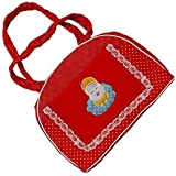 New Born Baby Dotted Print Red And White Colour Multi Purpose Diaper Bag 0-3 Years