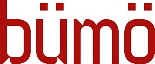 Bümö® Schreibtisch für das Büro | Bürotisch in 6 Dekoren & 7 Größen verfügbar | Büroschreibtisch (Weiß, 80_x_180_cm) - 5