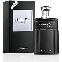 Massimo Dutti In Black - Agua de tocador masculina, 200 ml
